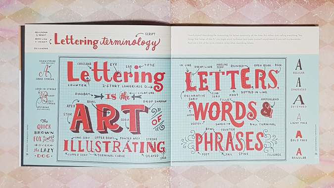 Hand Lettering Ledger by Mary Kate McDenritt - review