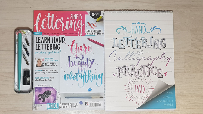 Lettering resources - review