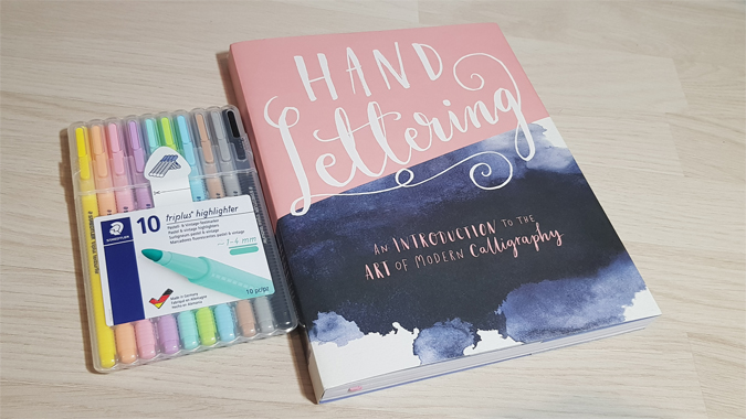 Hand Lettering: An introduction to the art of modern calligraphy - review