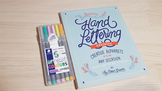 Hand Lettering Handbook - review