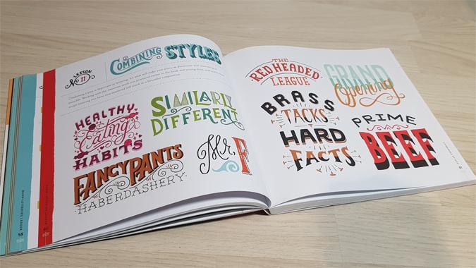 Hand Lettering Ledger - review