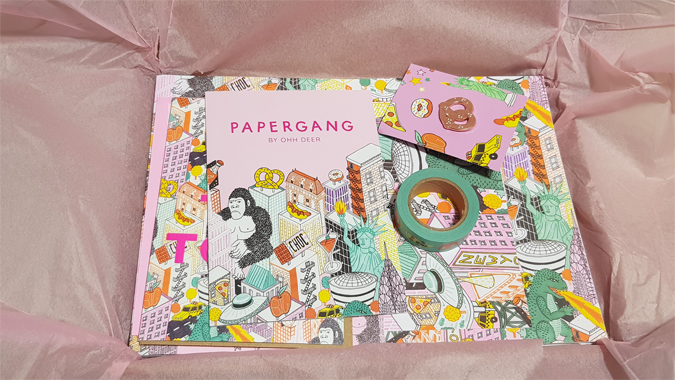 Papergang - Hit the Town box review