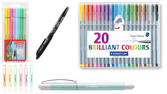 Back to school stationery shopping - pens