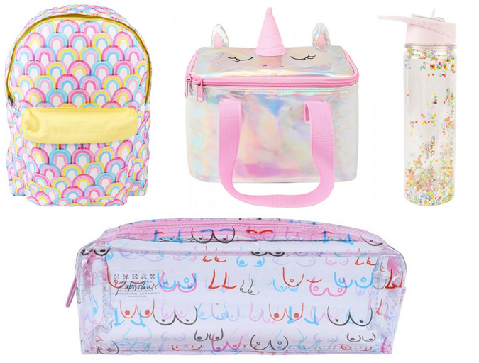 Back to school stationery shopping - Paperchase
