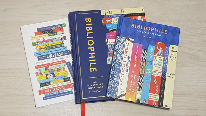 Bibliophile book journal from Abrams + Chronicle - review