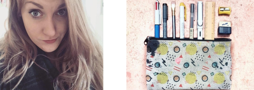 What's in my pencil case: Sarah from Stationery Magpie