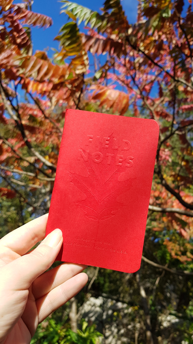 Field Notes - Autumn Trilogy from Nero's Notes
