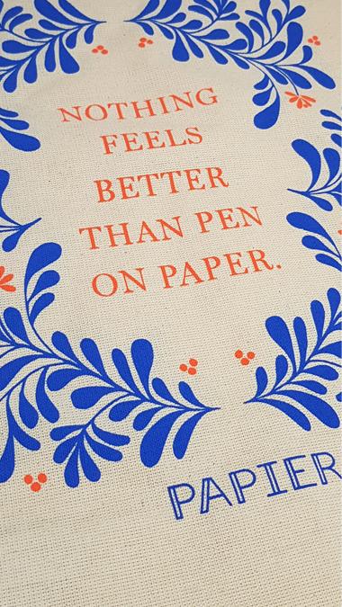 Papier tote bag