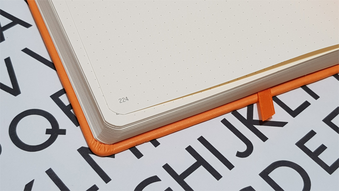 New Rhodia Goalbook review - Under the Rowan Trees