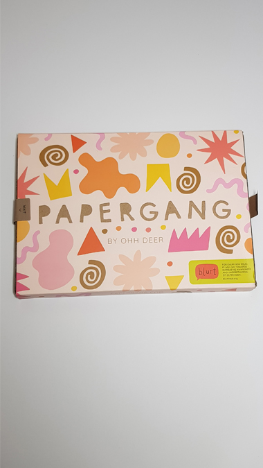 October 2019 Papergang subscription box - review