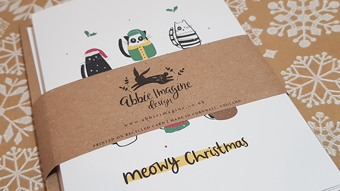 Christmas cards from Abbie Imagine - review and giveaway