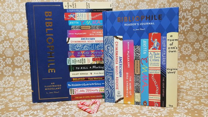 Bibliophile book and journal giveaway