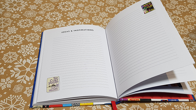 Bibliophile journal giveaway