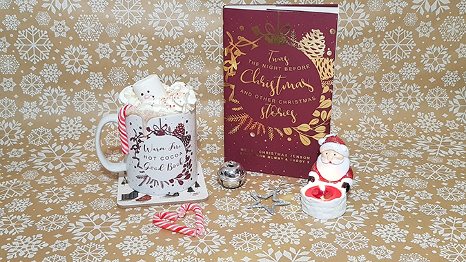 Personalised Twas the Night Before Christmas and cosy mug from Bookishly - review and giveaway