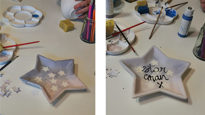 Pottery painting, 2019