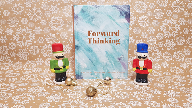 Forward Thinking: Wellbeing, happiness and fulfillment journal - review and giveaway