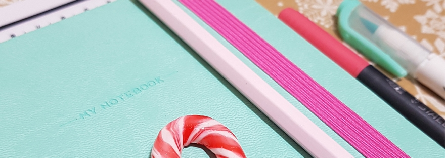 Personalised Legami My Notebook Dotted Bullet Journal - review and giveaway