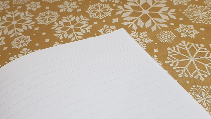 Personalised gratitude notebook from Martha Brook - review and giveaway