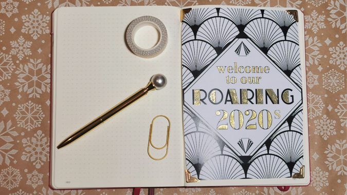 Love Daisy Roaring 2020s bullet journal box - review and giveaway
