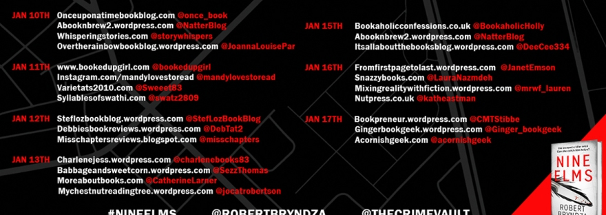 Nine Elms by Robert Bryndza blog tour - book review
