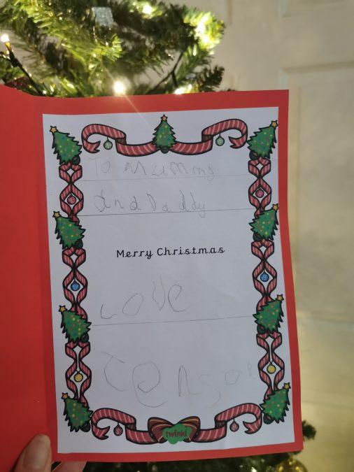 Jenson Christmas card