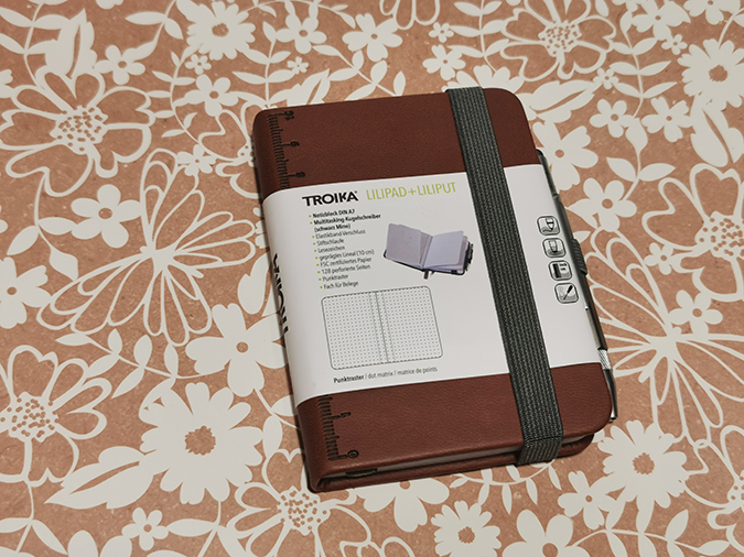 Troika Lilipad Notebook and Liliput pen from Stationery & Art - review